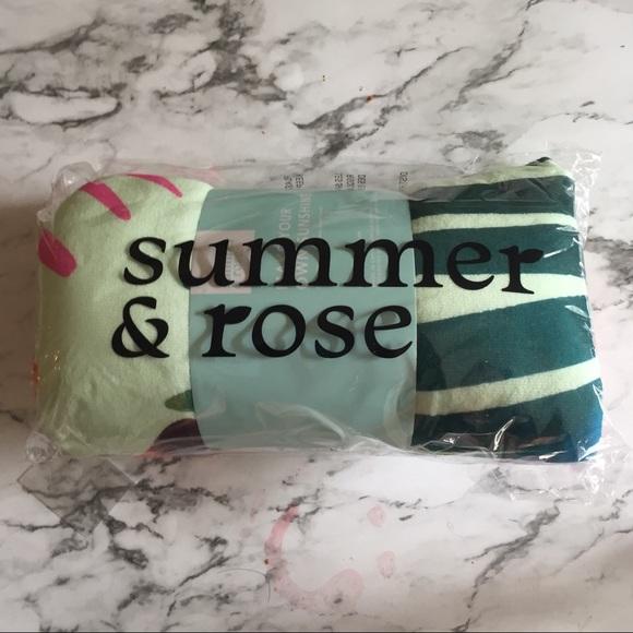 2d26e11e summer & rose Accessories | Summer Rose Beach Towel | Poshmark